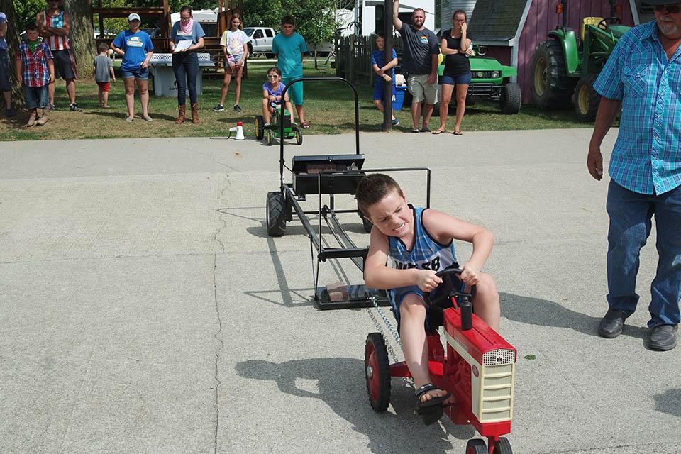 recreation fun at snow lake campground in michigan