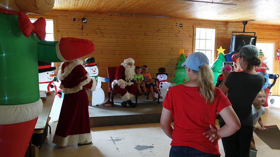 crafts at snow lake kampground