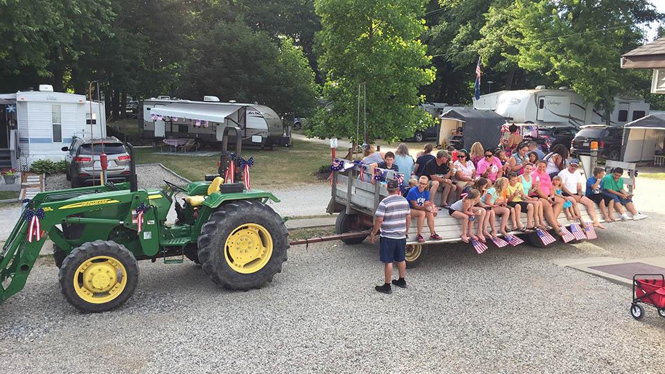 wagon ride fun